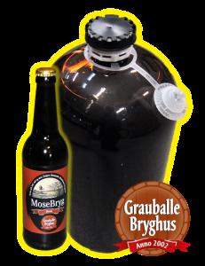 Grauballe bryghus, fadøl, lej fadølsanlæg udlejning til fest mosebryg
