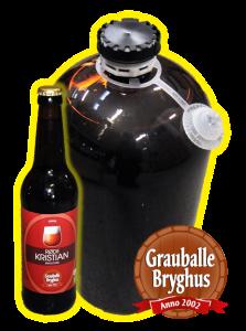 Grauballe bryghus, fadøl, lej fadølsanlæg udlejning til fest øl røde kristian
